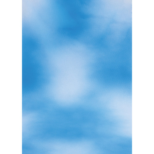 Botero #008 Muslin Background for the Rotary System (5x7', Sky Blue, White)