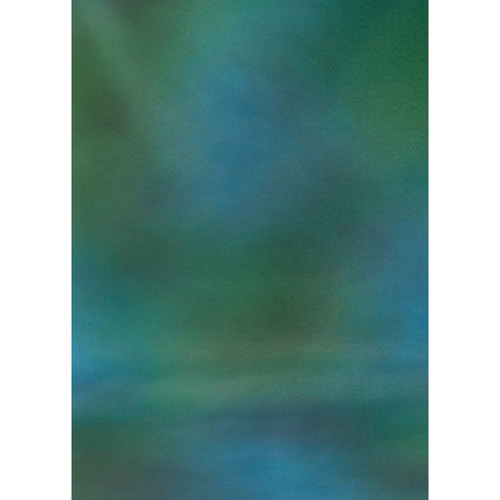 Botero #009 Muslin Background for the Rotary System (5x7', Green, Blue, Gray)
