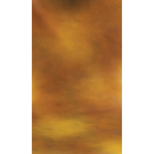 Botero #010 Muslin Background (10x24', Brown, Gold)