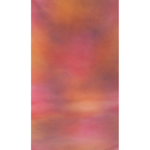Botero #011 Muslin Background (10x24', Maroon, Purple, Gray, Pink)