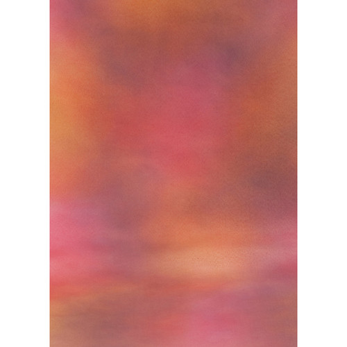 Botero #011 Muslin Background for the Rotary System (5x7', Maroon, Purple, Gray, Pink)
