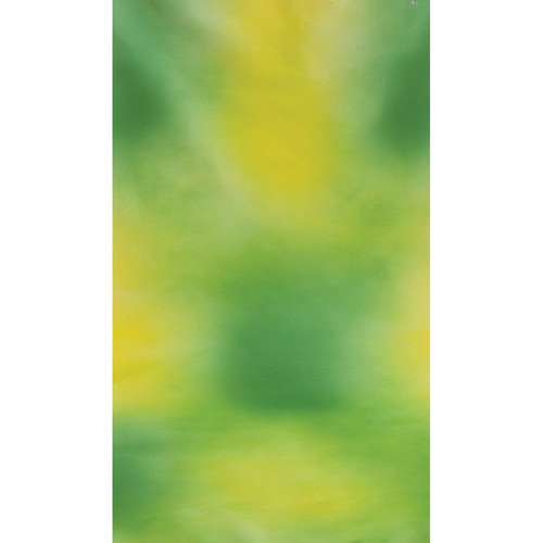 Botero #012 Muslin Background (10x24', Green, Yellow)
