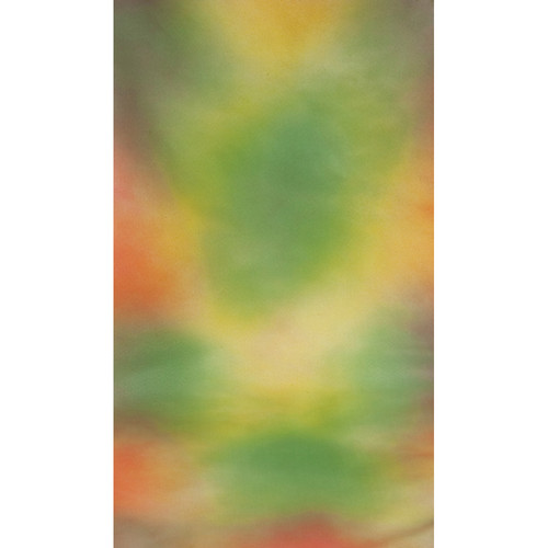 Botero #013 Muslin Background (10x12', Yellow, Orange, Brown, Green)