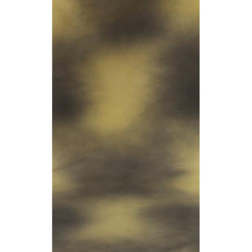 Botero #016 Muslin Background (10x12', Black, Yellow)