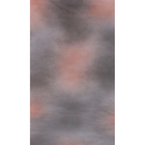Botero #017 Muslin Background (10x12', Gray, Light Orange)