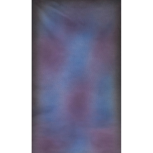 Botero #018 Muslin Background (10x24', Blue, Purple, Dark Gray)