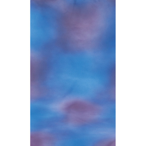 Botero #028 Muslin Background (10x24', Blue, Violet)