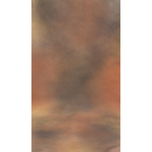 Botero #029 Muslin Background (10x24', Brown, Gold, Gray)