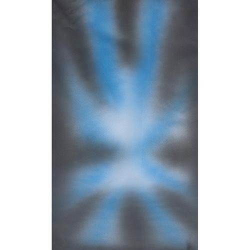 Botero #030 Muslin Background (10x24', Dark, Medium Blue)