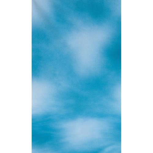 Botero #031 Muslin Background (10x24', Dark Blue, Blue, White)