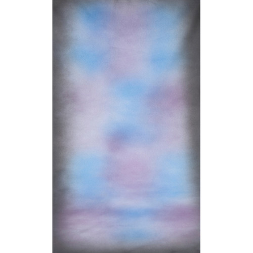Botero #033 Muslin Background (10x12', Dark Gray, Blue, Violet, White)