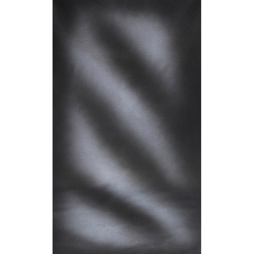 Botero #034 Muslin Background (10x24', Streaked Gray, White)