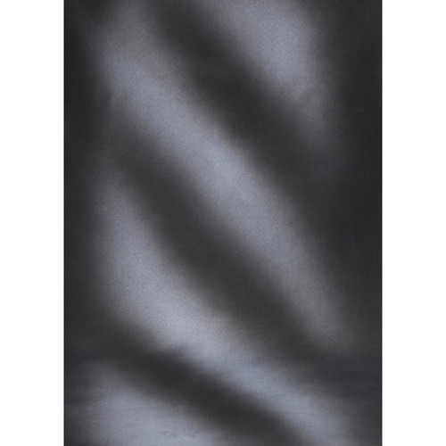 Botero #034 Muslin Background for the Rotary System (5x7', Streaked Gray, White)