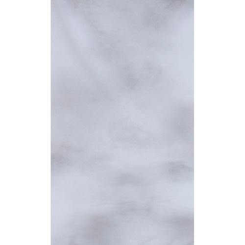Botero #038 Muslin Background (10x12', White, Light Gray)