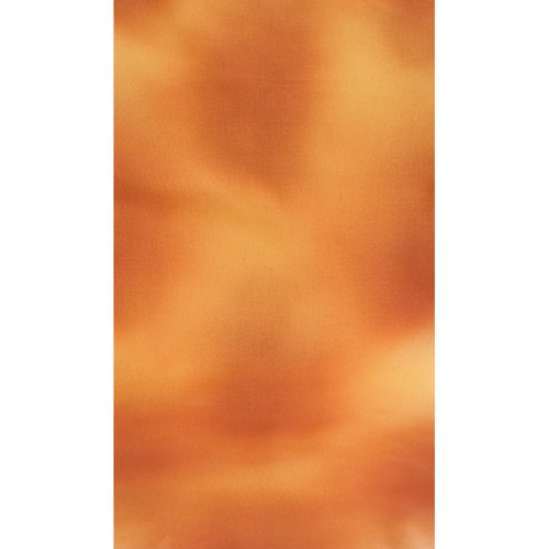 Botero #039 Muslin Background (10x12', Orange, Brown, Yellow)