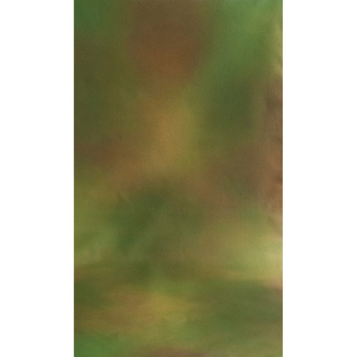 Botero #042 Muslin Background (10x12', Brown, Yellow, Green)