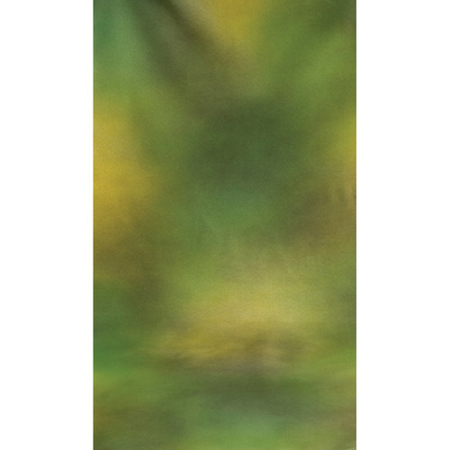 Botero #047 Muslin Background (10x24', Green, Yellow, Olive)