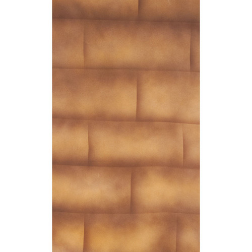 Botero #057 Muslin Background (10 x 24', Brick Brown, Beige )