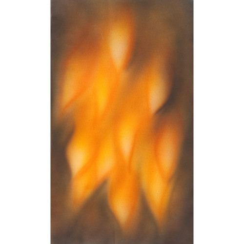 Botero #064 Muslin Background (10 x 12', Brown, Fire )