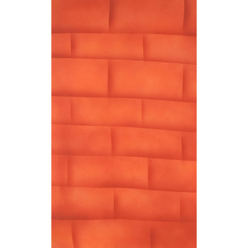 Botero M07257 Muslin Background for Rotary System ONLY (5 x 7', Brick Orange)