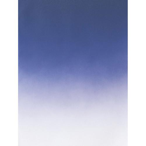 Botero #404 Muslin Graduated Background (5 x 7', Dark Blue, White)