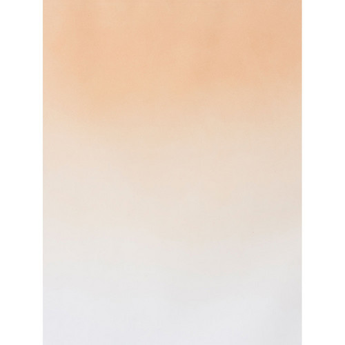 Botero #406 Graduated Muslin Background (5 x 7', Salmon, White)