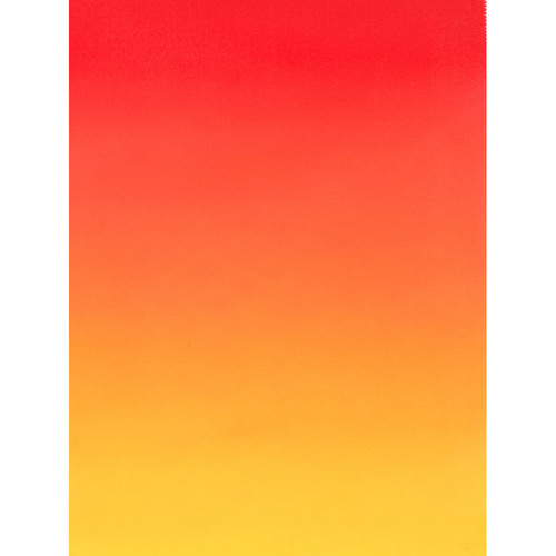 Botero #407 Muslin Graduated Background (5 x 7', Red, Yellow)