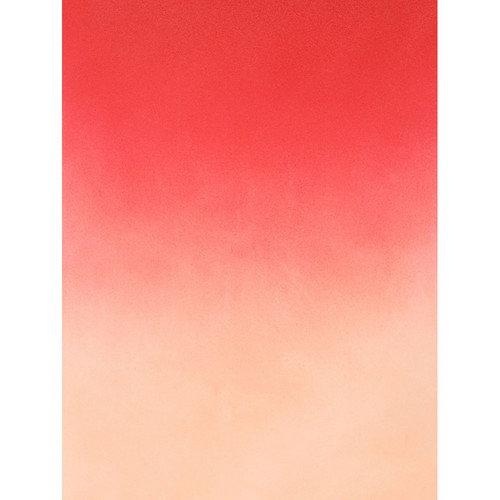 Botero #409 Graduated Muslin Background (5 x 7', Red, White)