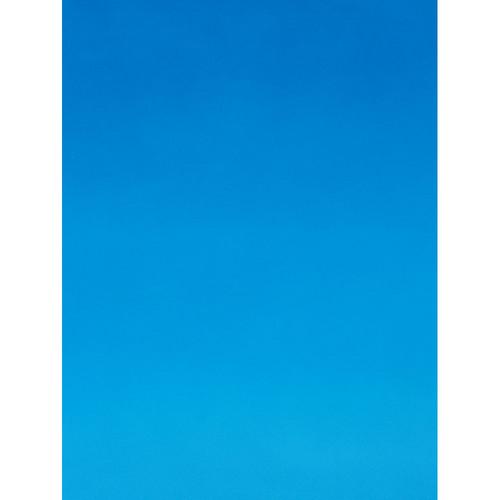 Botero #414 Muslin Graduated Background (5 x 7', Blue, Sky Blue)