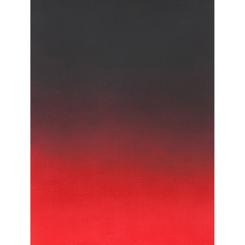 Botero #418 Muslin Graduated Background (5 x 7', Black, Red)