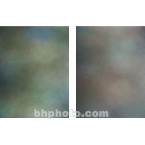 Botero 804 Double Sided Muslin Background, 10x24' - Warm Grey/Green, Grey