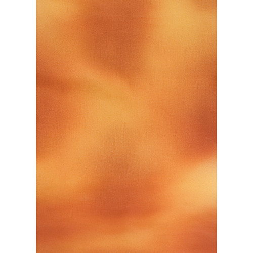 Botero #039 Muslin Background for Rotary System ONLY (5 x 7', Orange, Brown, Yellow)