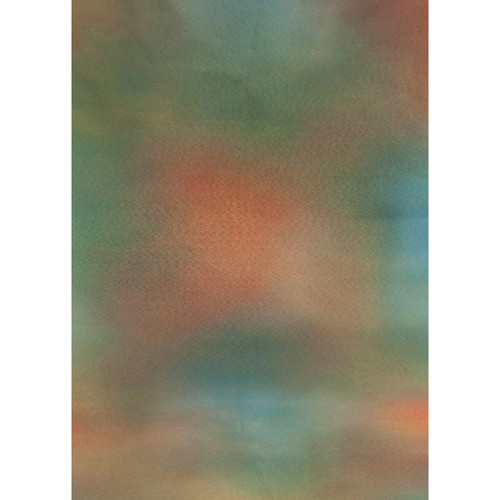 Botero #041 Muslin Background for Rotary System ONLY (5 x 7', Emerald, Orange, Red)