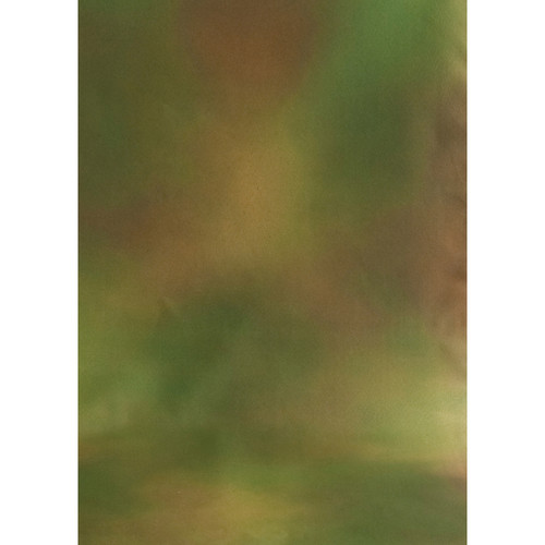 Botero #042 Muslin Background for Rotary System ONLY (5 x 7', Brown, Yellow, Green)