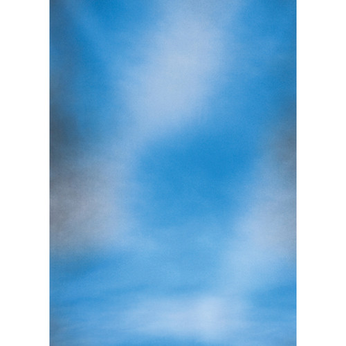 Botero #045 Muslin Background for Rotary System ONLY (5 x 7', Cerrullean Blue)