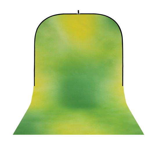 Botero #012 Super Collapsible Background (8x16', Green, Yellow)