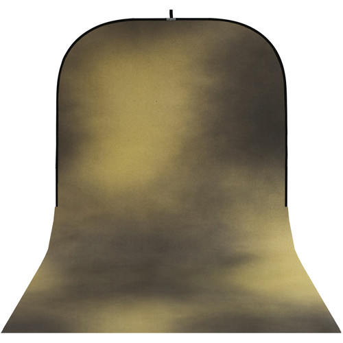 Botero #016 Super Collapsible Background (8x16', Black, Yellow)