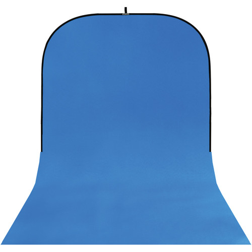 Botero #022 Super Collapsible Background (8x16', Blue)