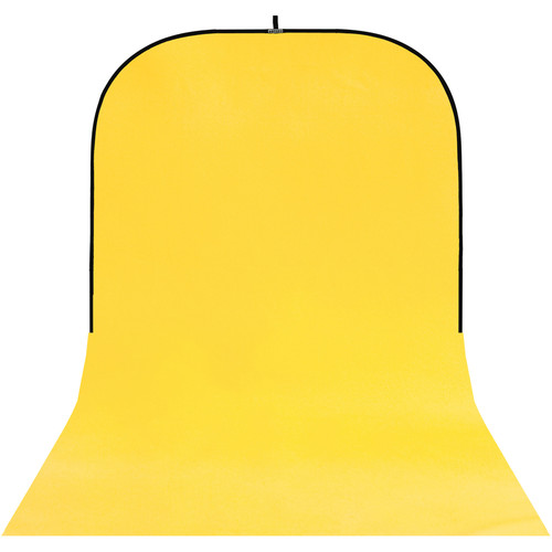 Botero #025 Super Collapsible Background (8x16', Yellow)