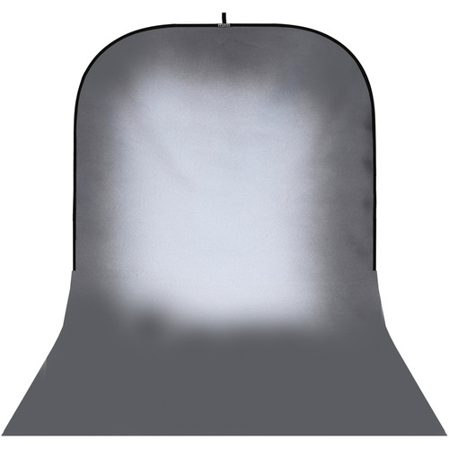 Botero #032 Super Collapsible Background (8x16', Dark Gray, White)