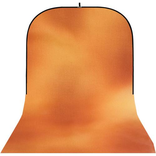 Botero SC039816  Super Collapsible Background (Orange, Yellow) (8 x 16')