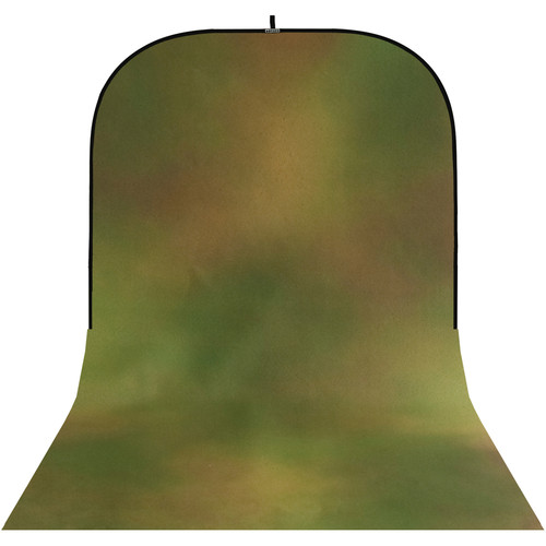 Botero #042 Super Collapsible Background (8x16', Brown, Yellow, Green)