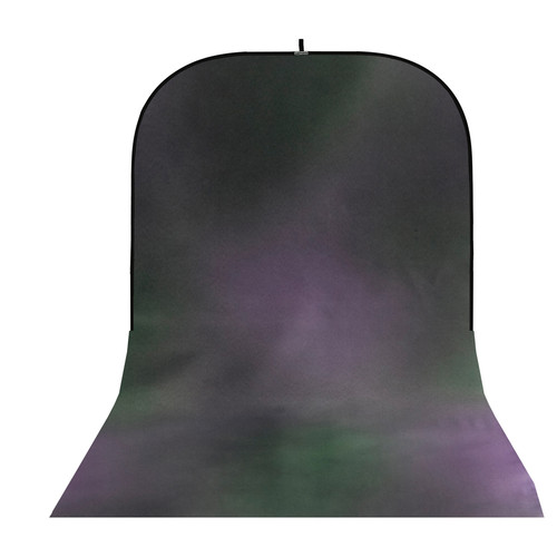 Botero #044 Super Collapsible Background (8x16', Green, Violet, Gray)