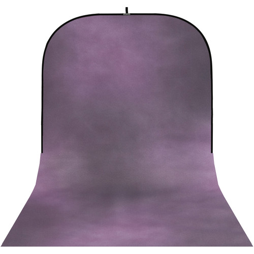 Botero #046 Super Collapsible Background (8x16', Pink, Blue/Gray)