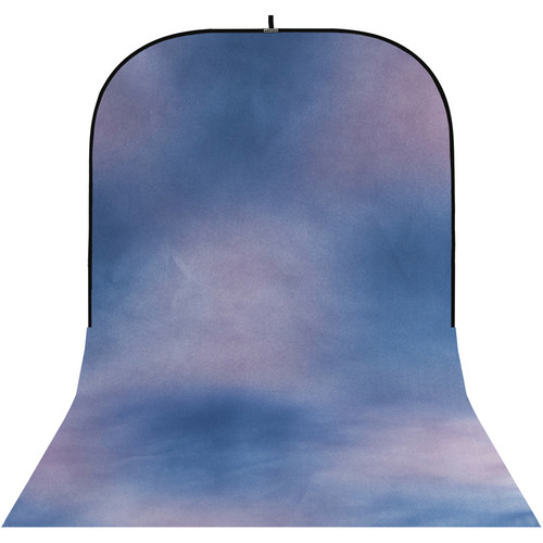 Botero #048 Super Collapsible Background (8x16', Blue, Violet)