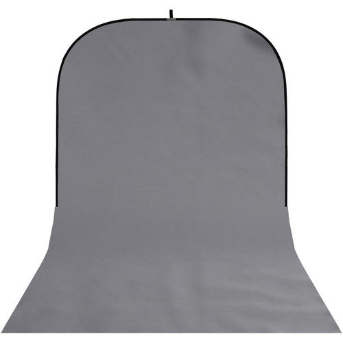 Botero #050 Super Collapsible Background (8x16', Medium Gray)