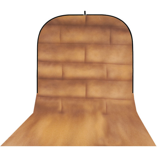 Botero 057 Supercollapsible Background (8 x 16', Brick Brown, Beige)