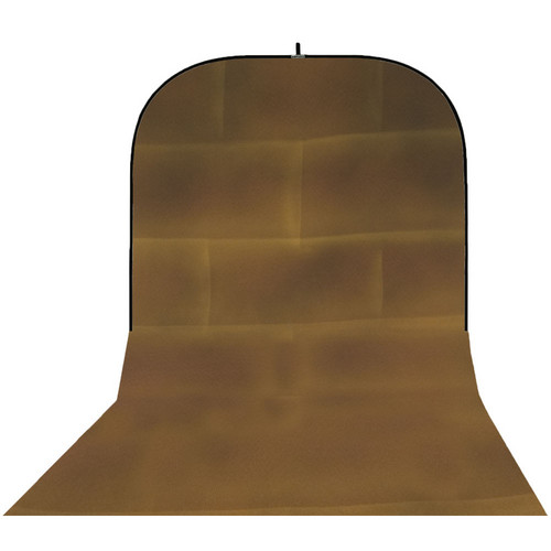 Botero 069 Supercollapsible Background (8 x 16', Brick Brown, Yellow)
