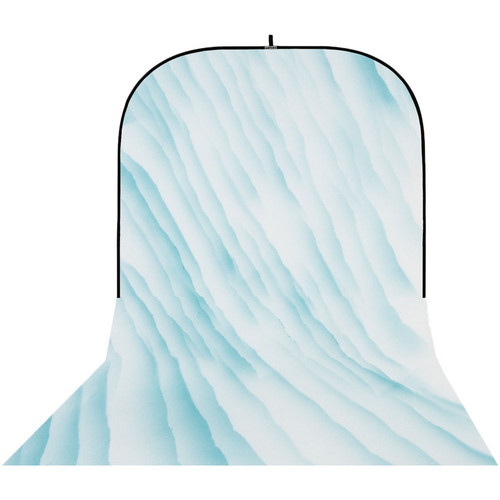 Botero 073 Supercollapsible Background (8 x 16', Light Blue, White)