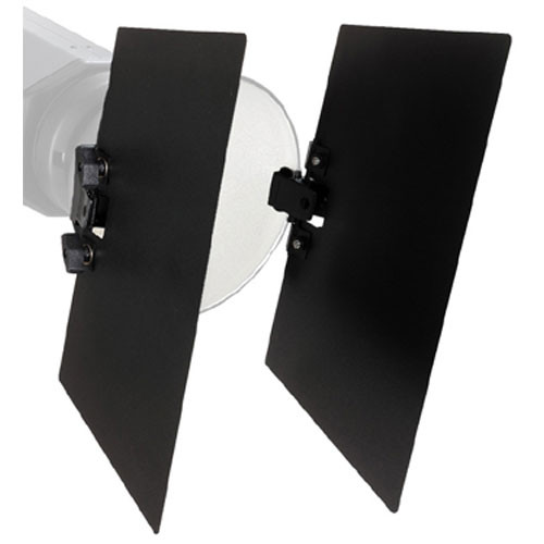 Bowens Clip-On Two-Leaf Barndoor Set